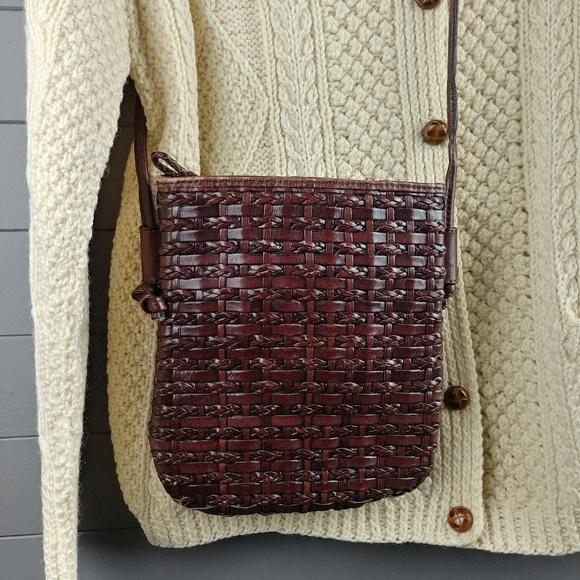 Dillards Handbags - Woven Leather Cross Body by Dillards.